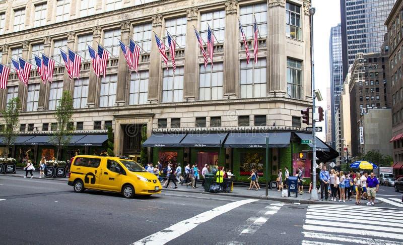 Cinquième Avenue New York City image stock