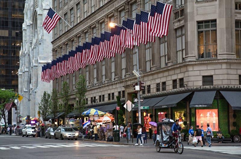 Cinquième Avenue New York City photos stock
