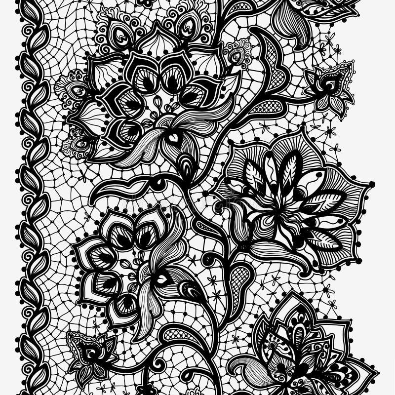 Cinta abstracta del cordón stock de ilustración
