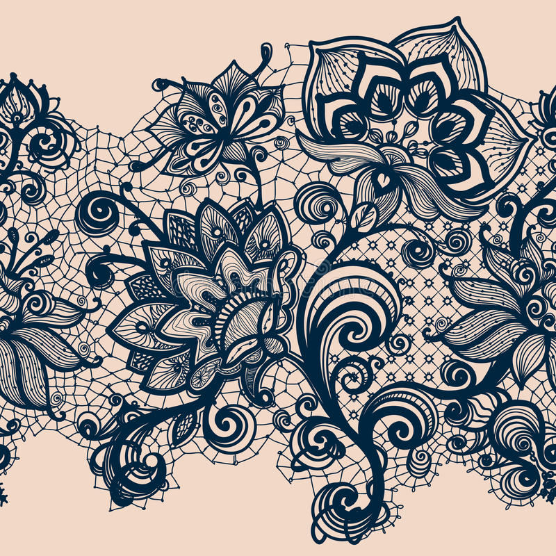 Cinta abstracta del cordón ilustración del vector