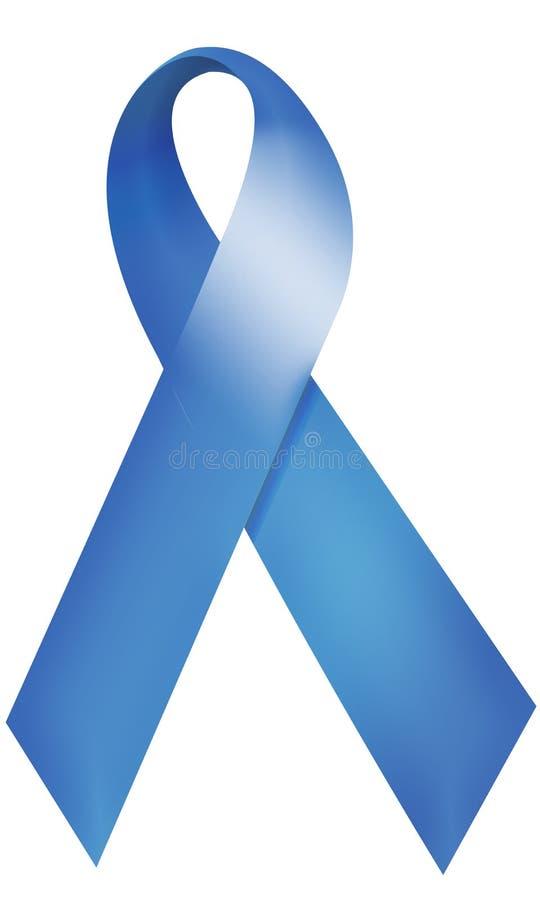 Cinta azul stock de ilustración