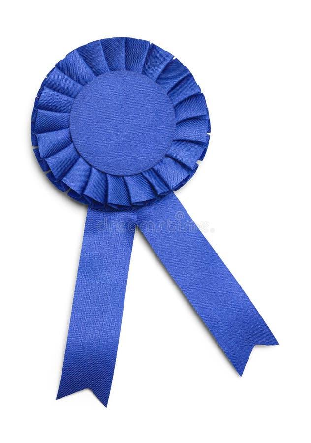 Cinta azul del premio fotos de archivo libres de regalías