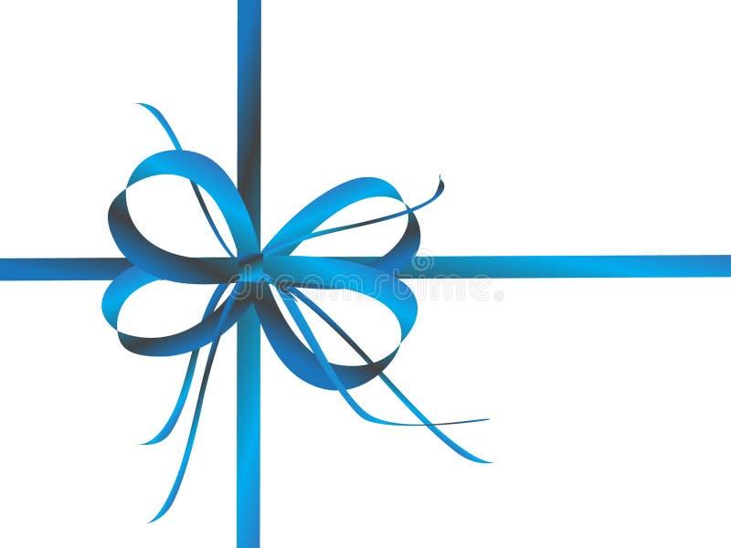 Download Cinta azul en blanco stock de ilustración. Ilustración de azul - 7275588