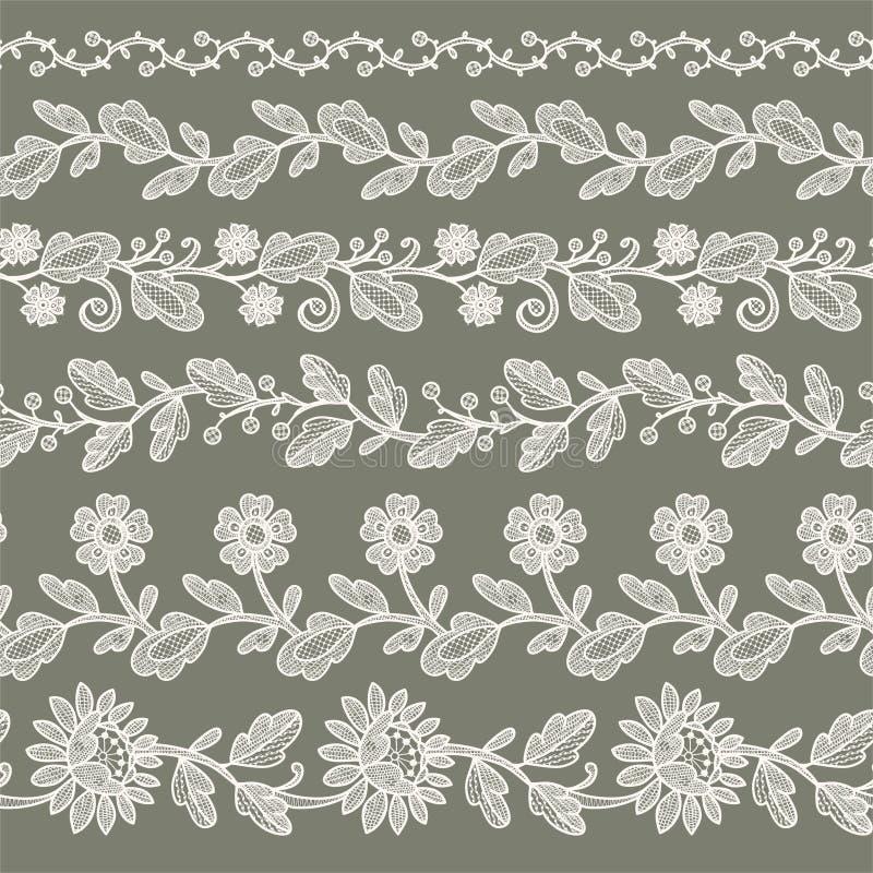 Cinta blanca del cordón libre illustration