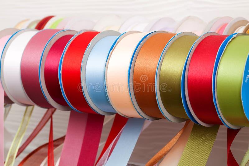 Cinta colorida imagenes de archivo