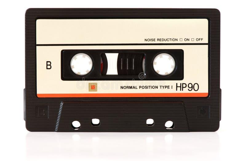 Cinta de audio de la música imagen de archivo libre de regalías