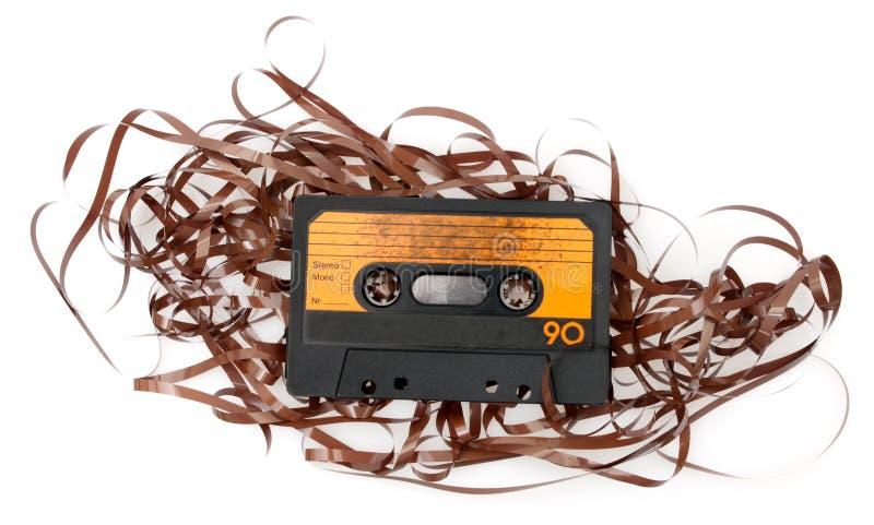 Cinta de cassette audio retra imágenes de archivo libres de regalías