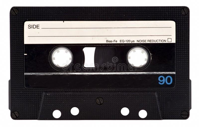 Cinta de cassette de la vendimia fotos de archivo