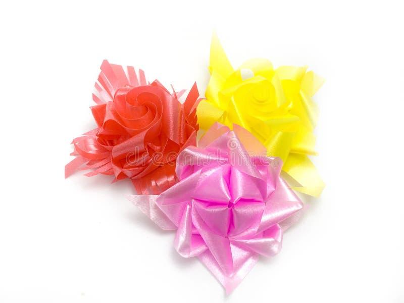 Cinta de la flor del color fotos de archivo libres de regalías