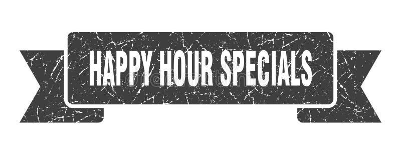 cinta de los specials de la hora feliz stock de ilustración