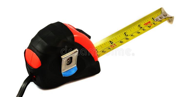 Cinta de medición fotografía de archivo