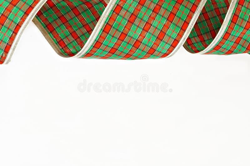 Cinta decorativa verde del embalaje aislada en una jaula foto de archivo libre de regalías