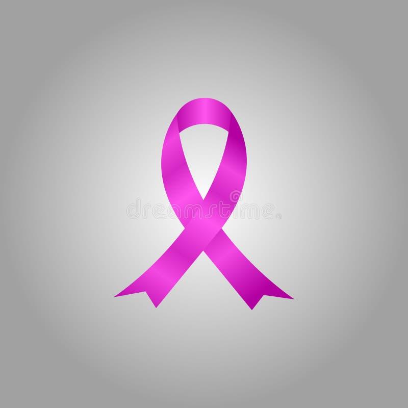 Cinta del conocimiento del SIDA Cinta de la conciencia del cáncer de pecho fotografía de archivo