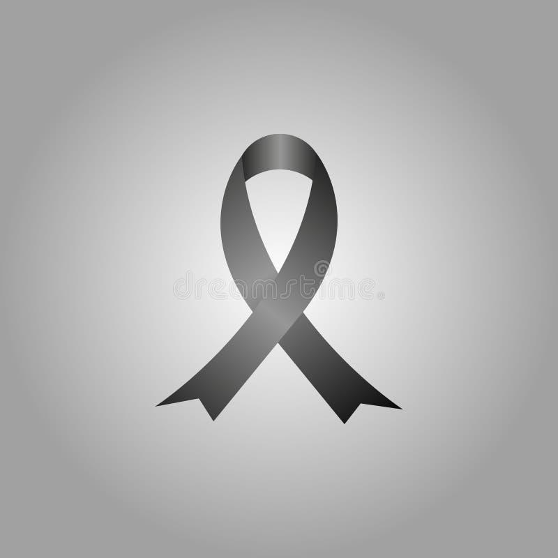 Cinta del conocimiento del SIDA Cinta de la conciencia del cáncer de pecho fotos de archivo