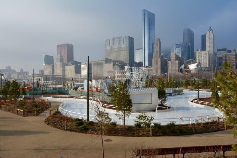Cinta del patinaje de hielo imagen de archivo libre de regalías