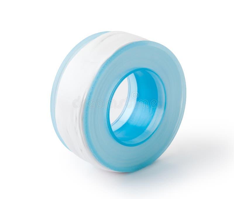 cinta del sello del hilo de tubo imagen de archivo