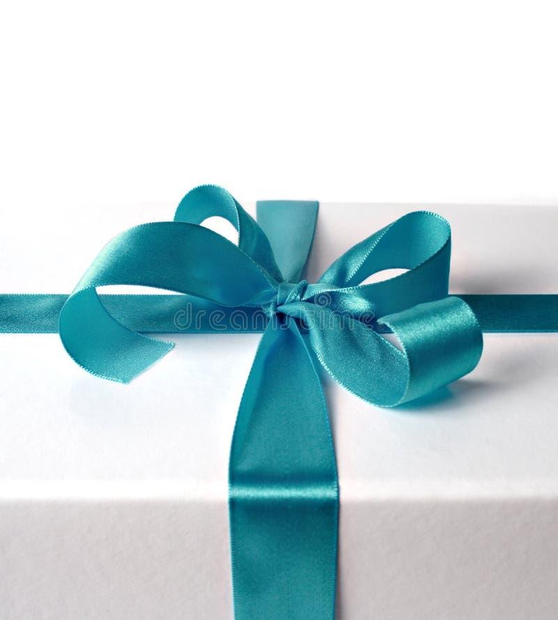 Cinta para el rectángulo de regalo foto de archivo libre de regalías