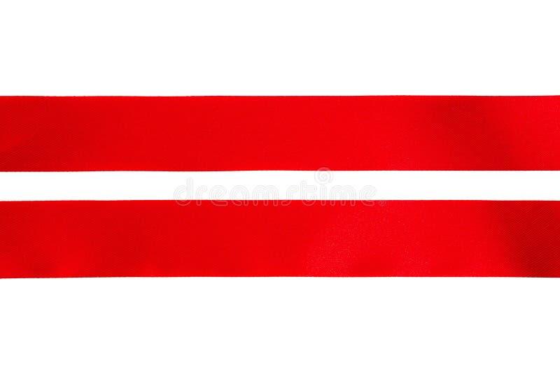 Cinta roja fotografía de archivo libre de regalías