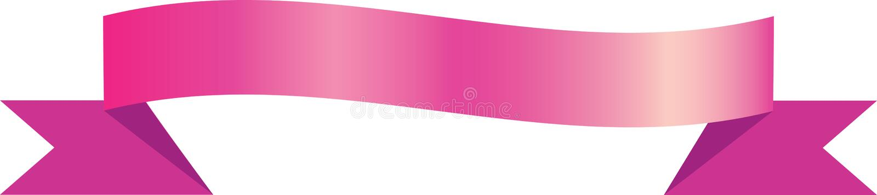 Cinta rosada ilustración del vector