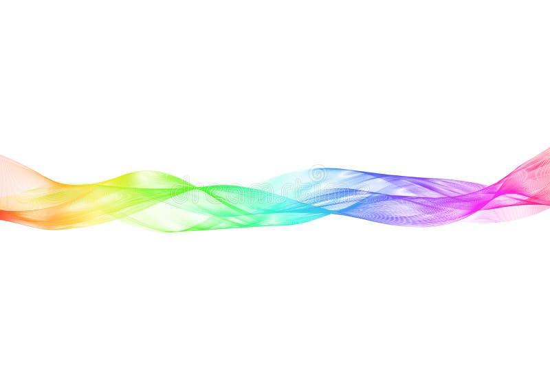 Cinta transparente con un terraplén horizontal de la pendiente libre illustration