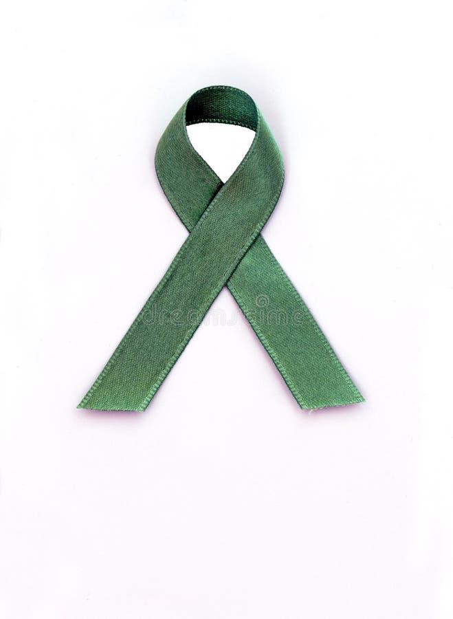 Cinta verde imágenes de archivo libres de regalías