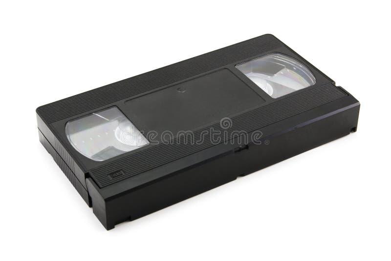 Cinta video (aislada en blanco) imagen de archivo