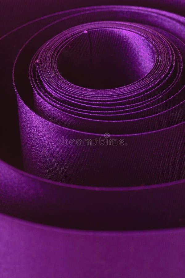 Cinta violeta fotos de archivo