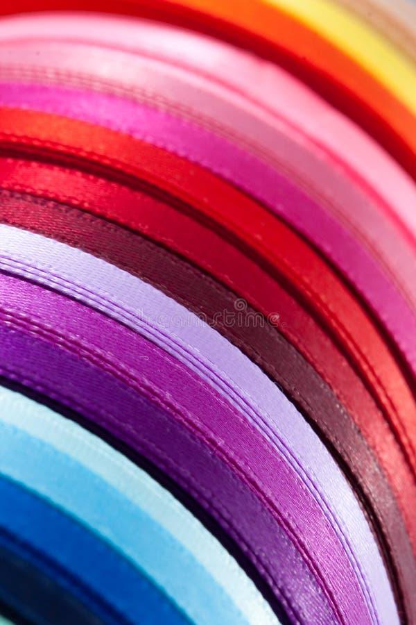 Cintas coloridas (1) fotografía de archivo libre de regalías