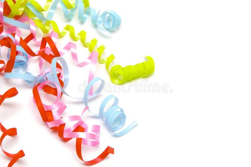 Cintas coloridas imagen de archivo