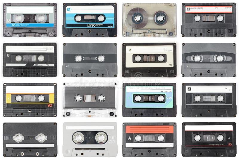 Cintas de audio imagenes de archivo
