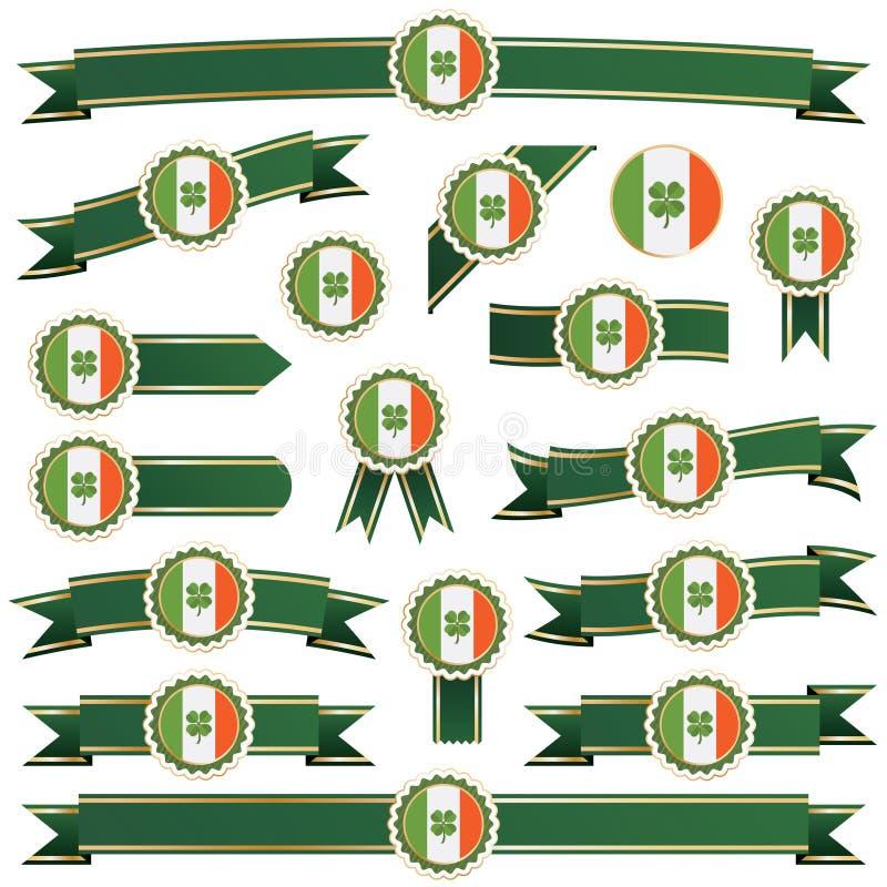 Cintas de Irlanda stock de ilustración