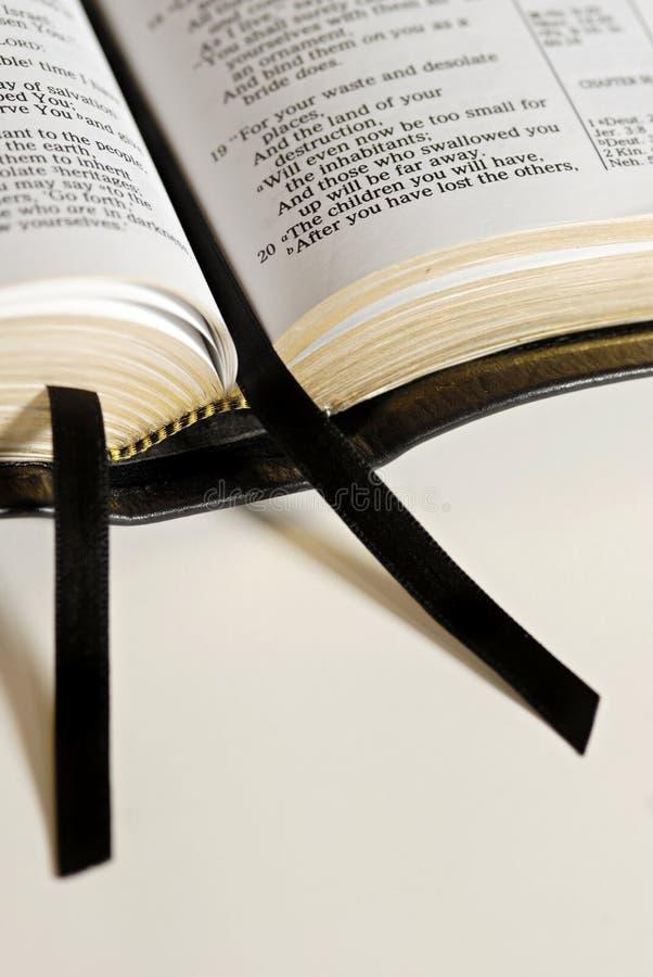 Cintas de la biblia fotografía de archivo libre de regalías