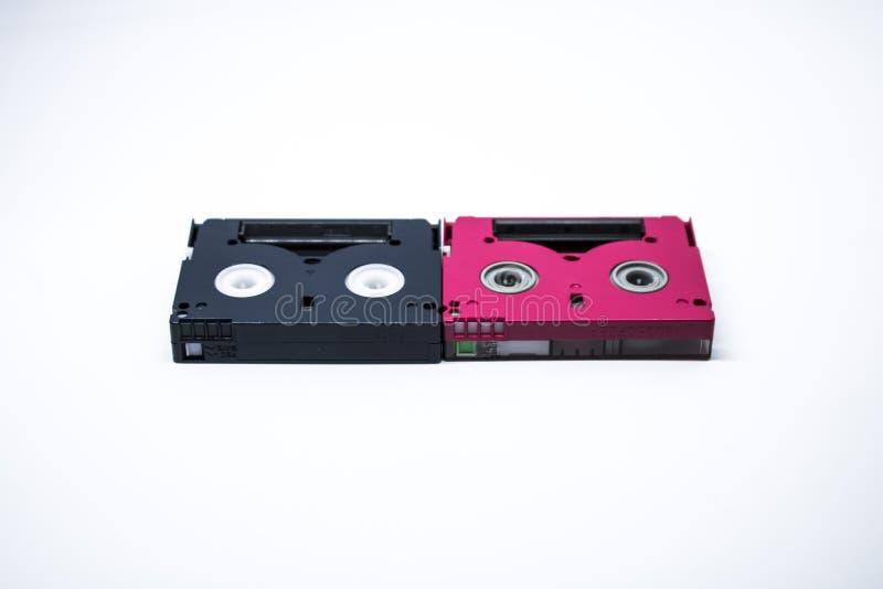 Cintas de video viejas imagen de archivo