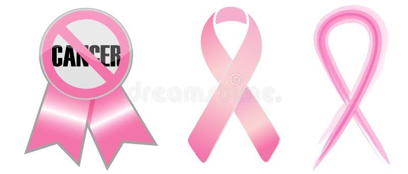 Cintas del conocimiento del cáncer de pecho libre illustration
