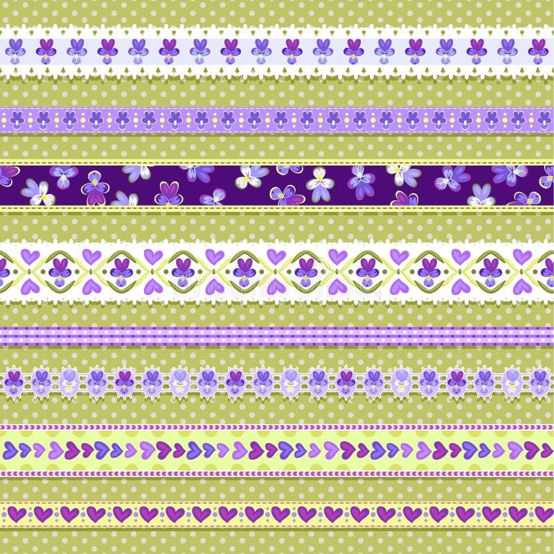 Cintas violetas libre illustration