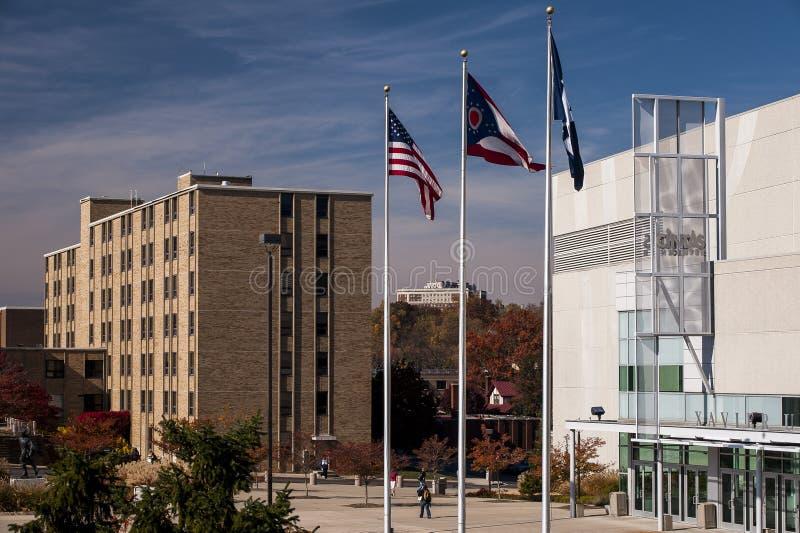 Cintascentrum & Kuhlman-Woonplaatszaal - Xavier University - Cincinnati, Ohio stock afbeeldingen