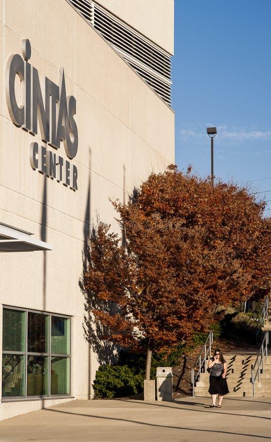 Cintascentrum - Xavier University - Cincinnati, Ohio stock foto's