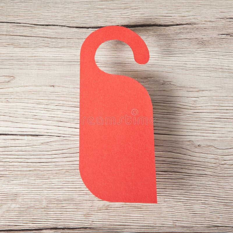 Cintre de porte rouge photos stock