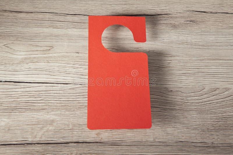 Cintre de porte rouge images libres de droits