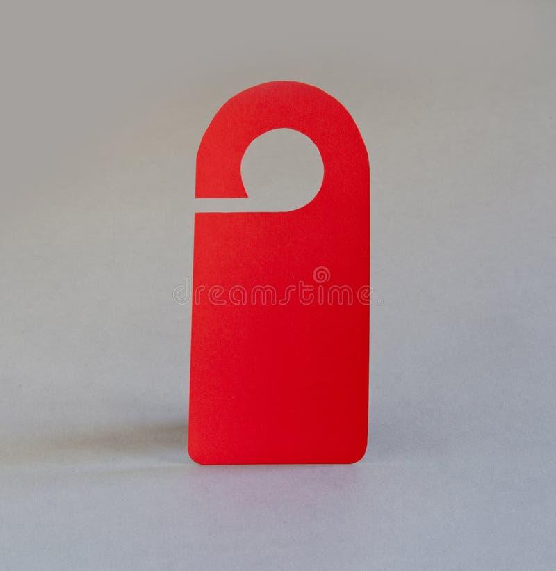 Cintre de porte rouge image libre de droits