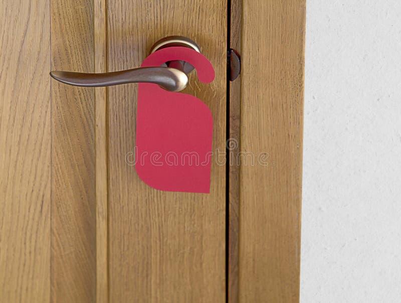 Cintre de porte rouge photographie stock libre de droits