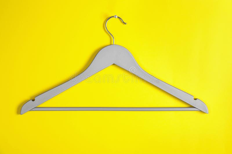 Cintre vide Accessoire de garde-robe photographie stock