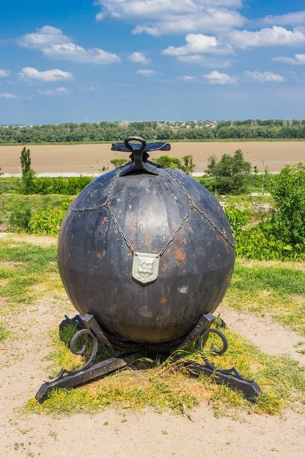 Cintreuse, le Transnistrie - forteresse Tighina dans le Transnistrie, un territoire autonome non identifié par les Nations Unies photographie stock libre de droits