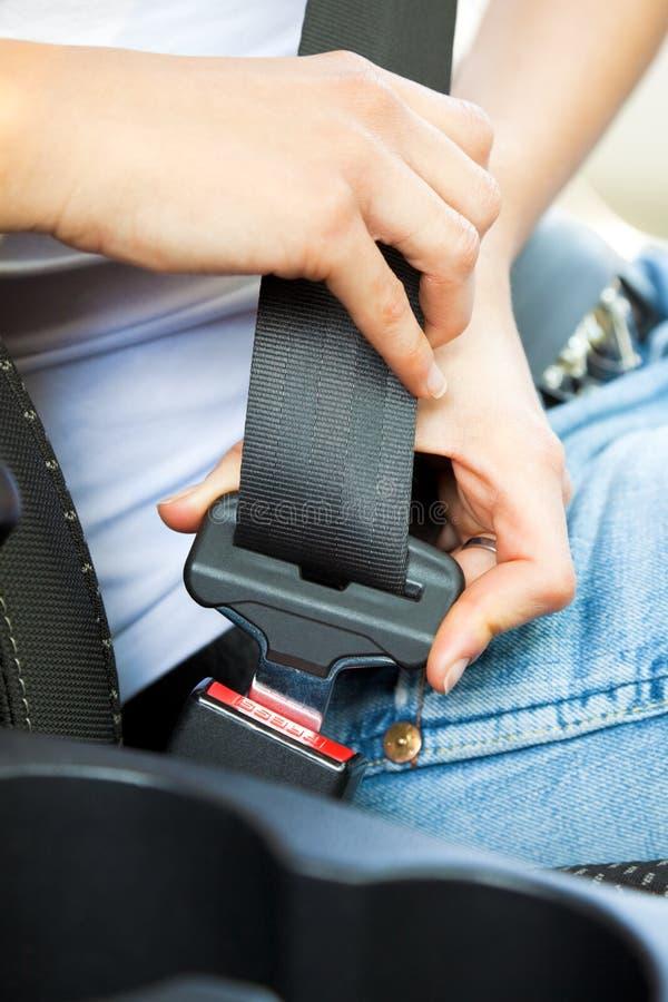 Cinturón de seguridad imagenes de archivo