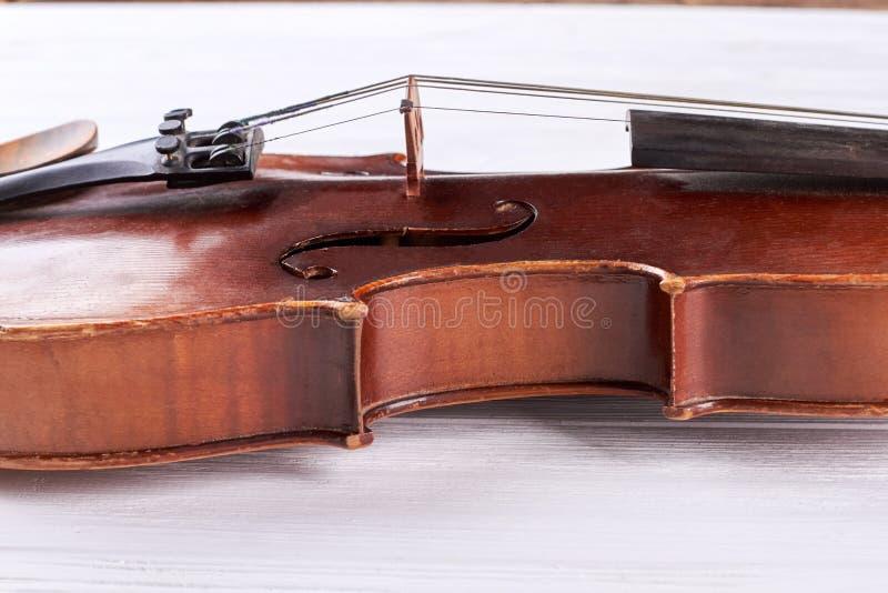 Cintura de um violino fotografia de stock