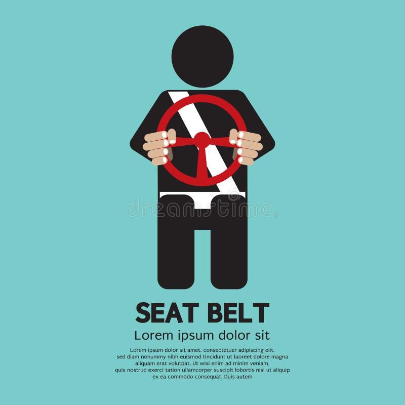 Cintura di sicurezza royalty illustrazione gratis