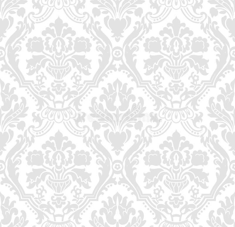 Cinza do papel de parede ilustração royalty free