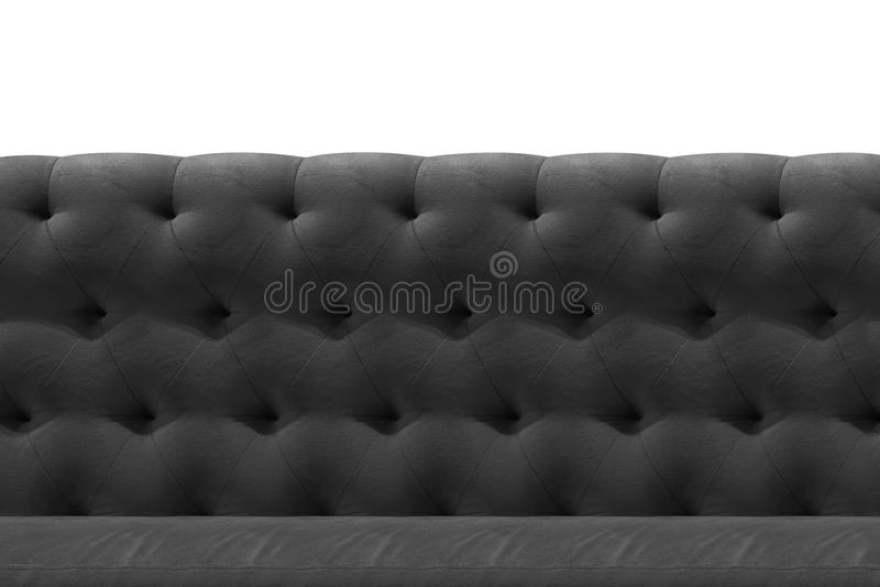Cinza luxuoso, bronze, fundo preto do teste padrão do close-up do coxim de veludo do sofá no branco imagens de stock royalty free