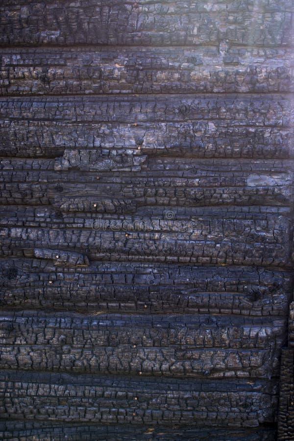 Cinzas naturais do fogo com textura preta cinzenta escura de carv?es E Copyspace imagens de stock