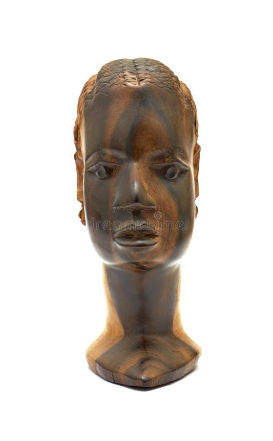 Cinzeladura africana da madeira imagem de stock royalty free